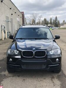 2007 BMW X5 Black on Black