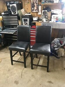 Two Matching Leather Chairs - Can Deliver
