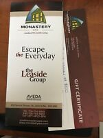 Spa at Monastery Gift Certificate