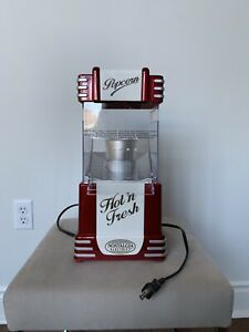 Hot-Air Popcorn Machine by Nostalgia Electrics