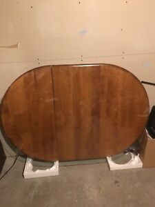 Solid Birch Table With Matching Chairs