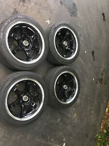 "17"" Aftermarket Rims with 225 Nexen Tires"