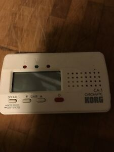 Chromatic Korg guitar tuner