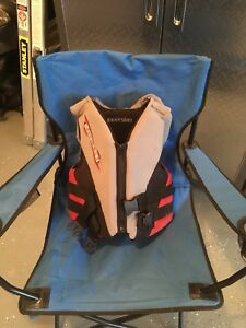 Youth life jackets and wet suit