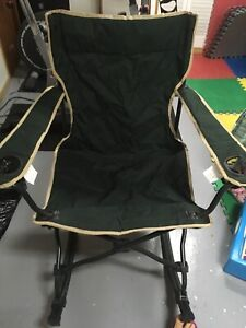 Chaise berçante camping pliante / foldable rocking chair