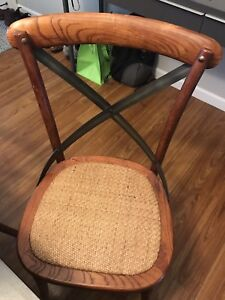 French Country Bistro Chairs