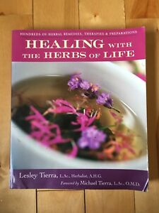 Book - Healing with the herbs of life Lesley Tierra