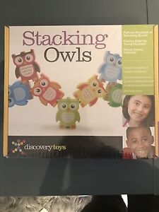 Stacking Owls- perfect gift. BNIB