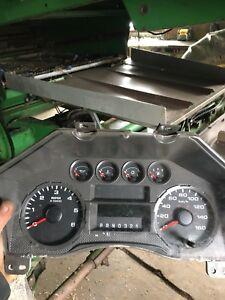 2009 Ford F-250 dash gauges