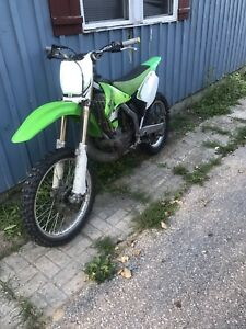 2007 kx 250 2-stroke with ownership