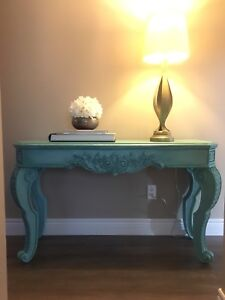 REDUCED! Refinished Antique  table