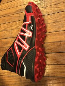 Salomon snowcross running spiked shoes size 8