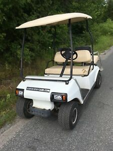 Golf cart electric  with rear seat