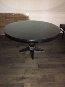 """54"""" Round Bombay Dining Table with 6 chairs"""