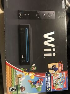 Brand new wii in the box with extras