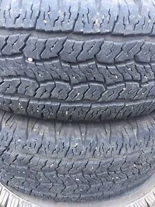 Two 245/65R17