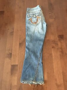 True Religion jeans - Rainbow Joeys - size 31x30