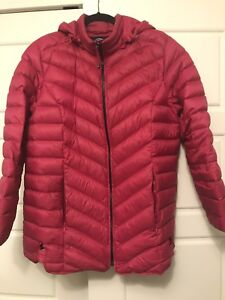 Ladies down puffer style jacket  size X (16)