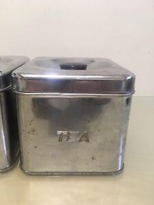 Coffee/ tea storage tins