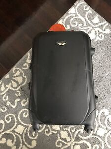 """12""""x19"""" hard cover carry on luggage- EXCELLENT CONDITION!!!"""