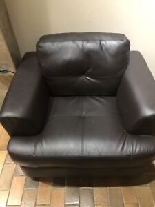 Couch, chairs ottoman