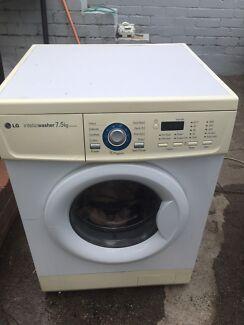 Lg 7.5kg washer