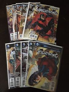 Nightwing New 52 lot - full series DC comics