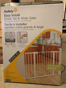 Baby Gate - Safety 1st Extra Tall and Wide easy install