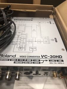 Roland vc-30hd video converter