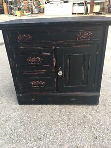 Solid Hardwood Antique Washstand