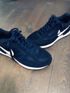 Nike Casual Lifestyle Shoes Blue Suede Men's US 9
