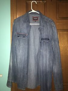 Barbour International Denim Shirt