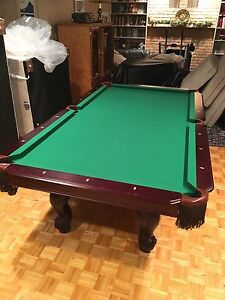 Queen Anne Millennium Pool Table