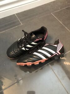 Girls size 3 soccer cleats