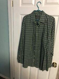 Two brand new dress shirts for sale.