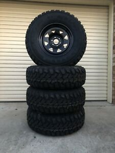 New Navara 265/75R16 M/T's and Dynamic 16x8 Steel Caboolture Caboolture Area Preview