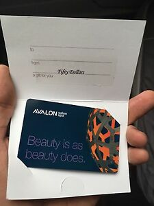 $200 dollars in gift card for AVALON