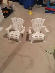 Kids chairs.  Pair.
