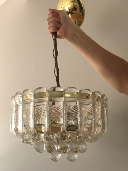 Retro light fitting