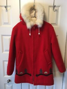 HUDSON'S BAY Vintage 100% Virgin Wool Women's Jacket $160.00