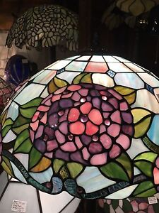 Hyacinth Stained Glass Floor Lamp