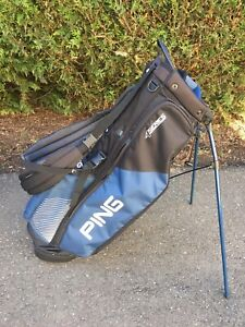 Ping 4 Series Golf Bag Stand Blue
