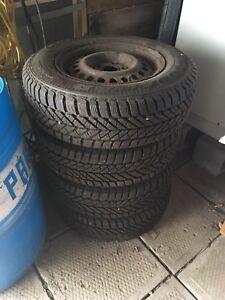 P195/70R14 hiver pneus