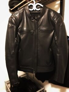First MFG Top Performer Leather Motorcycle Jacket