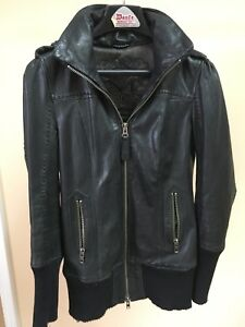 MACKAGE LEATHER JACKET SMALL