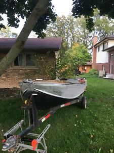 1976 14ft Sears aluminum boat