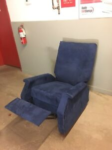Blue Recliner / Rocker ***Free Delivery***