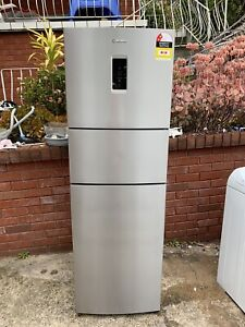 Westinghouse 400L stainless steel fridge 3 doors nearly new
