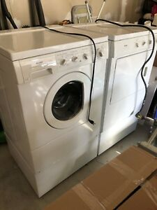 Kenmore Washer and Dryer with Pedestals