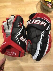 Bauer vapor 1x lite hockey gloves